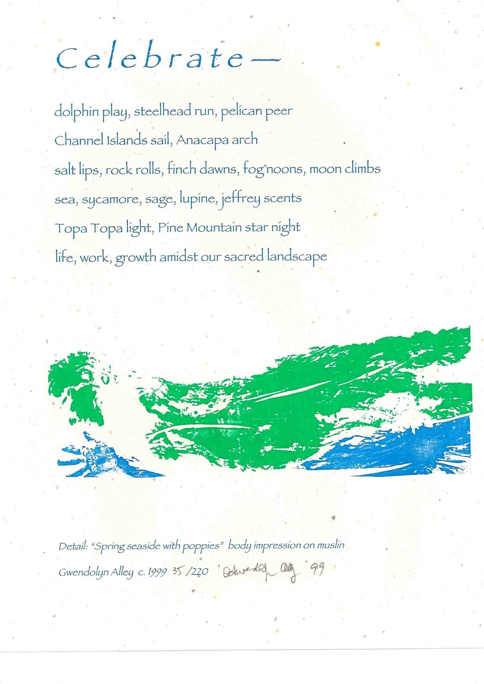 Happy Earth Day! Here's A Poetry Broadside to Celebrate ...